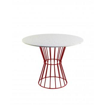 Mesa Confetti  (rojo)
