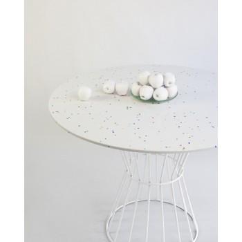 Mesa Confetti  (blanco)