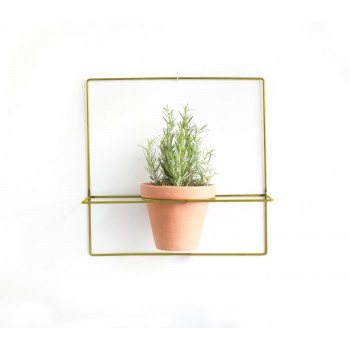 Wire Wall Plants Cuadrado Colores