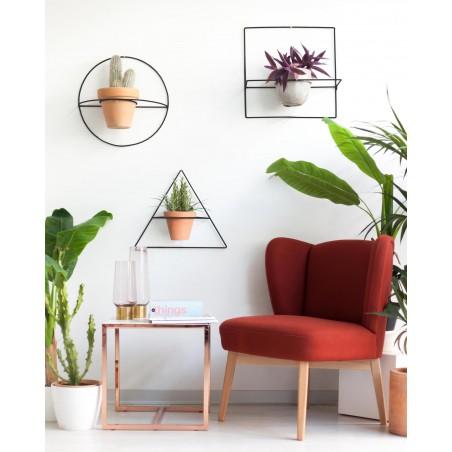 Wire Wall Plants Triángulo