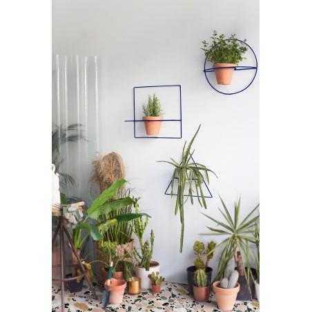 Wire Wall Plants Triángulo Colores