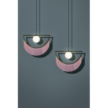Wink Lamp Gold&Pink