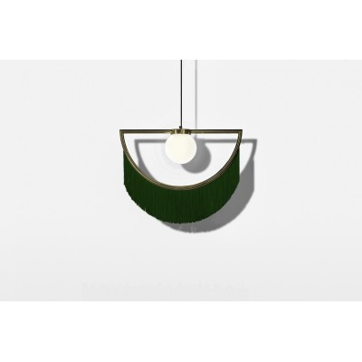 Wink Lamp Gold&Green