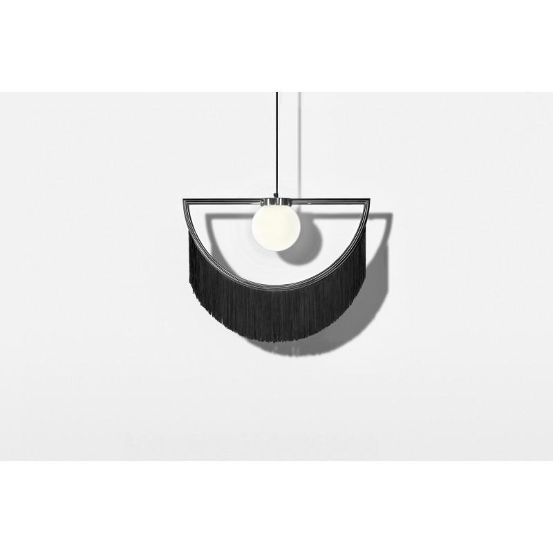 Wink Lamp Silver&Black