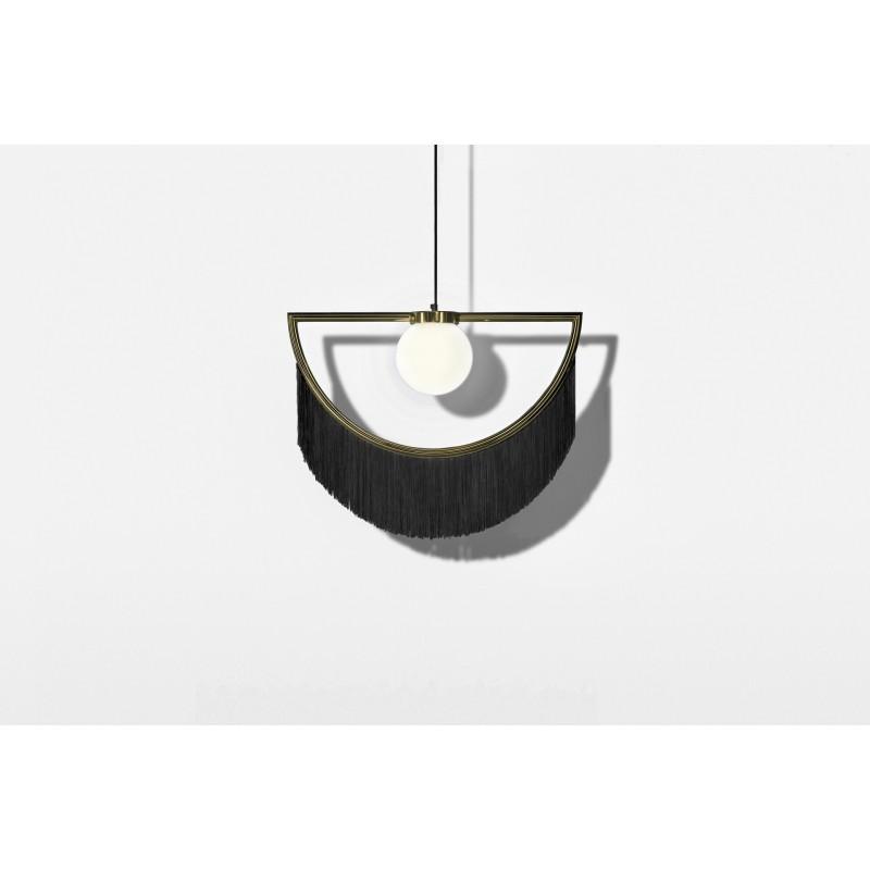 Wink Lamp Gold&Black