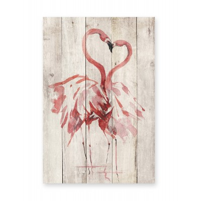 Tabla Love Flamingo