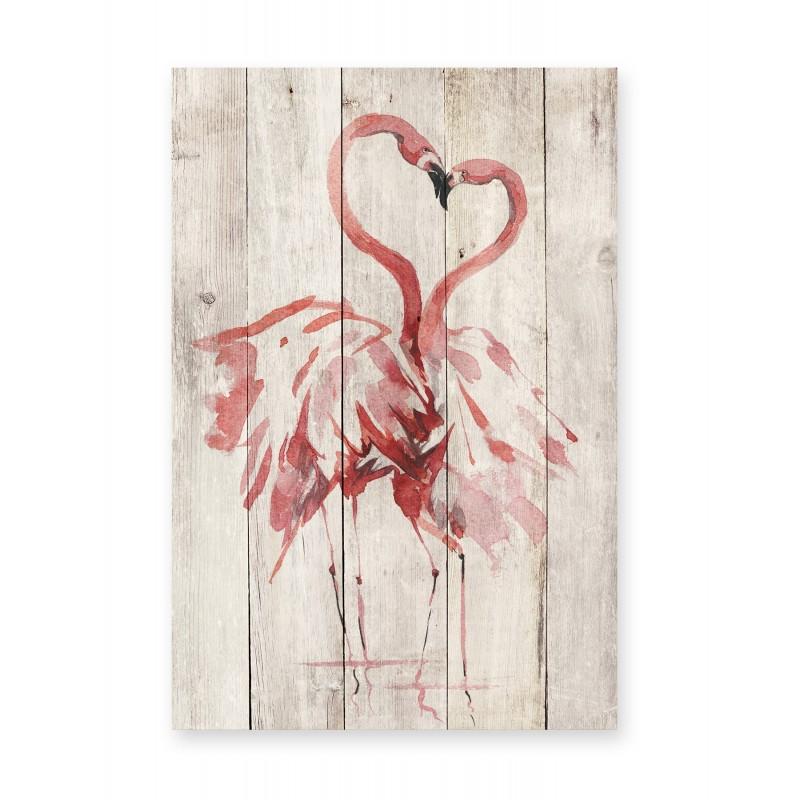 Tabla Love Flamingo