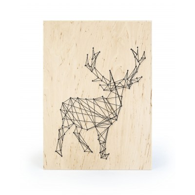 String Art Oh Deer