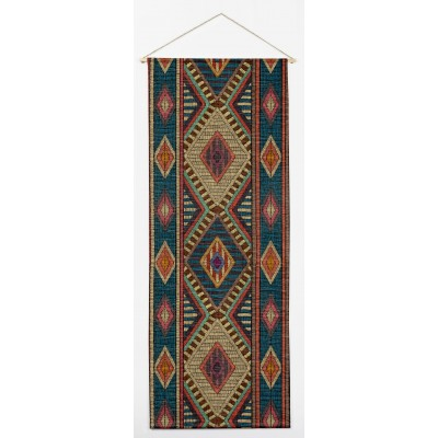 Embroidery Ikat Vertical Tapestry