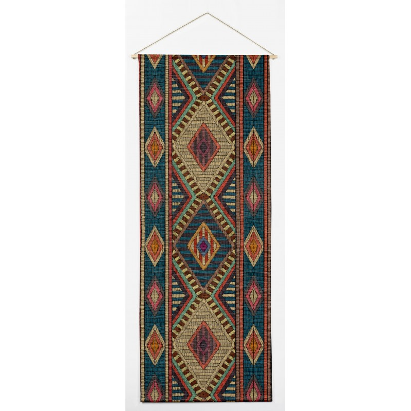Tapiz Vertical Embroidery Ikat