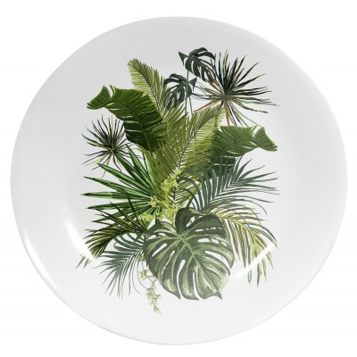 Plato Decorativo Tropical