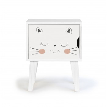 Bedside Table Cat
