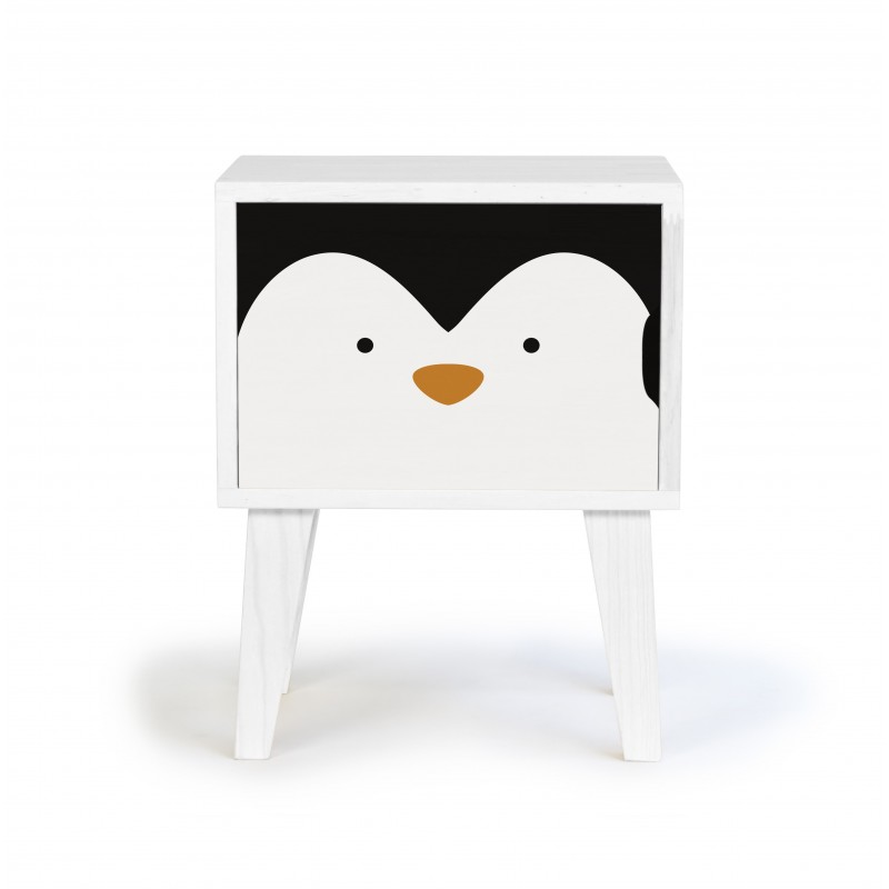 Bedside Table Penguin