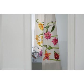 Cortina Hogar (Flores salvajes)