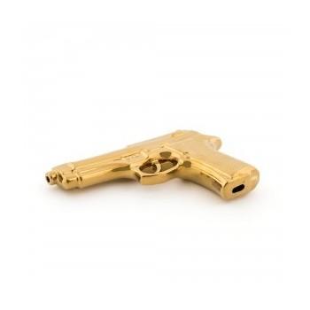Pistola Porcelana Gold Really