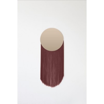 Moon Mirror Burgundy