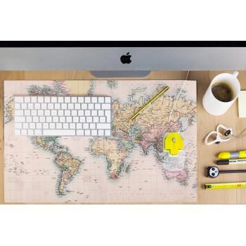 Desk Mat Map