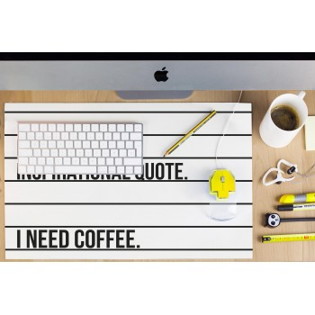Desk Mat Coffee