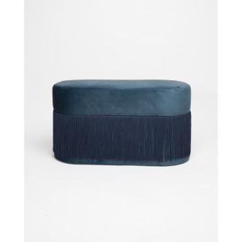Pouf Pill L Navy Blue