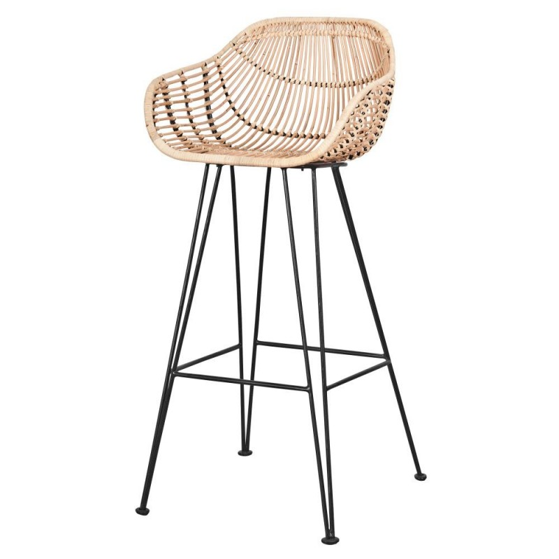 Super Rattan Bar Stool Reallynicethings Gmtry Best Dining Table And Chair Ideas Images Gmtryco