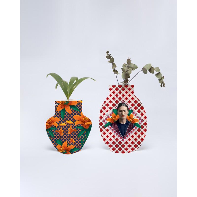 Flower vase Orange Flowers