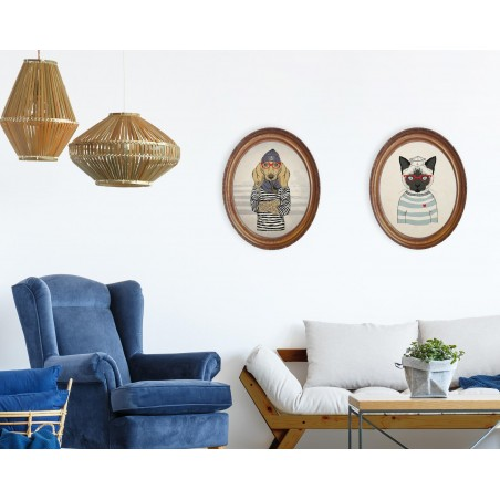 Decoración Vertical Sailor Dog Senior