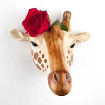 Giraffe Wall Vase