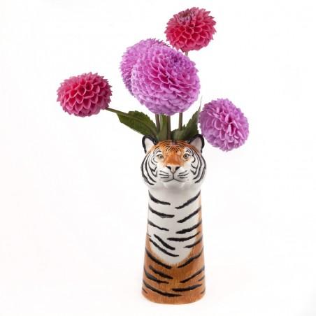 Tiger Flower Vase Large