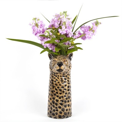 Leopard Flower Vase Large