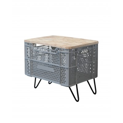 Eco Storage Table Gris