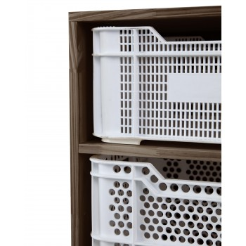 Eco Storage Cabinet White