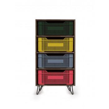 Eco Storage Vertical Multicolor