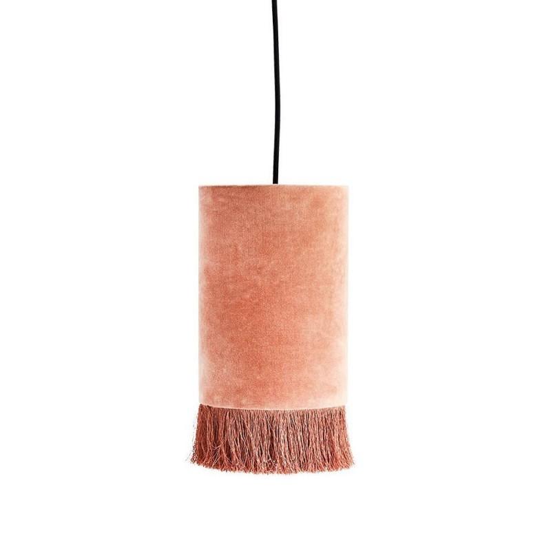 Lampara Velvet Pink