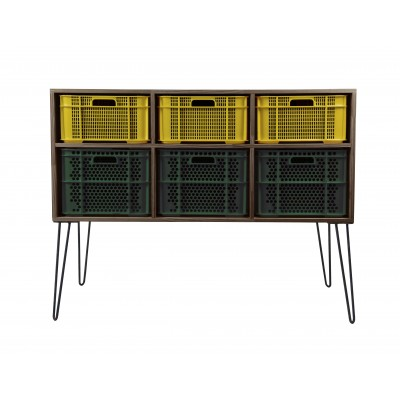 Eco Storage Modules Amarillo - Verde