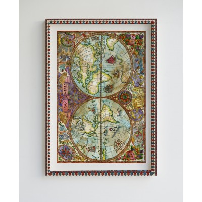 Painting Limited Edition WorldMAp