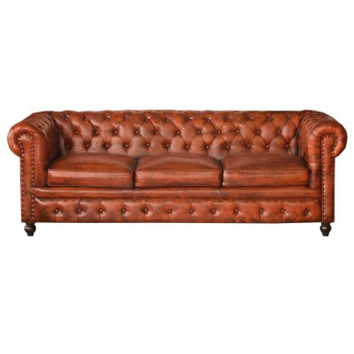 Chester Camel 3 Skin seater Sofa
