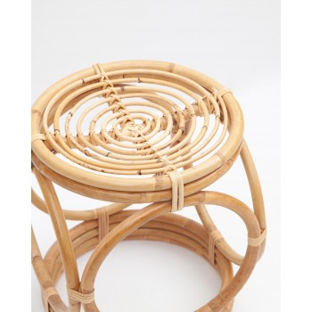 Taburete Manuela Rattan Made in Spain