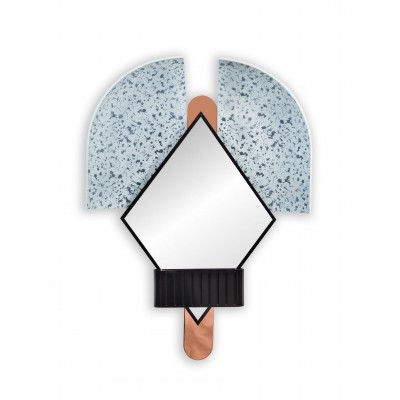 Bonnet Mirror Blue