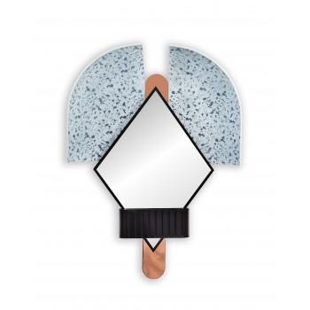 Bonnet Mirror Blue