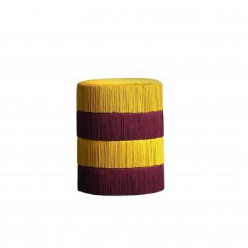 Pouf Chachachá - Yellow&Purple