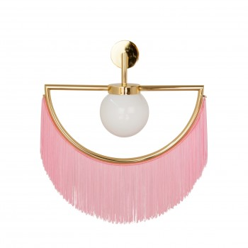 Wink Wall Lamp - Gold&Pink