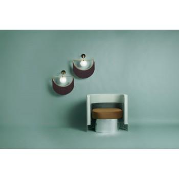 Wink Wall Lamp - Gold&Garnet