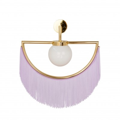 Wink Wall Lamp - Gold&Lilac