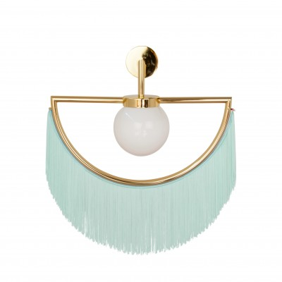Wink Wall Lamp - Gold&Aquamarine