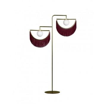 Wink Standing Lamp - Gold&Garnet