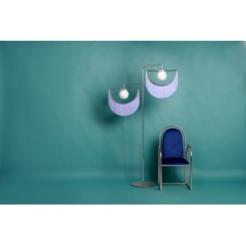 Wink Standing Lamp - Silver&Lilac