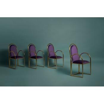 Arco Chair Gold
