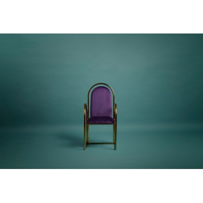 Arco Chair Gold