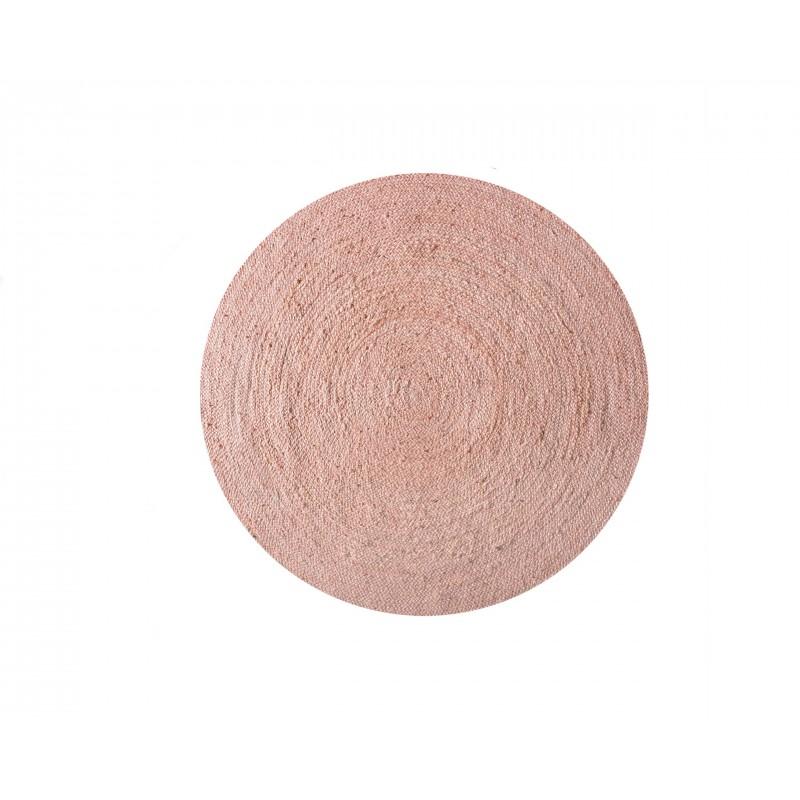 Yute Rug Pink