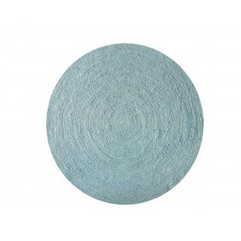 Alfombra Yute Azul